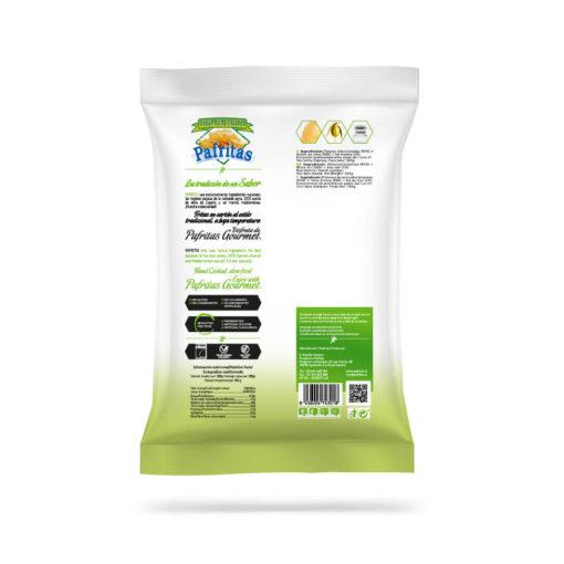 SmasD pafritas sal marina bio aceite de oliva natural