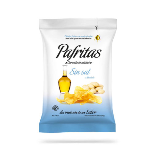 SmasD pafritas sin sal bio aceite de oliva natural